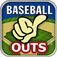 Baseball Outs Icon